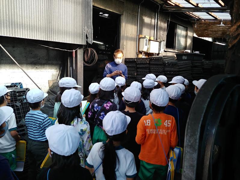 記事 地元の小学生の工場見学のアイキャッチ画像